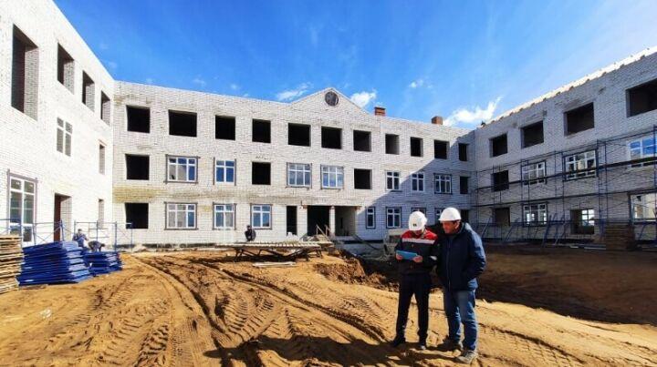 Новая школа на 500 мест в Усадах примет учеников в 2021 году