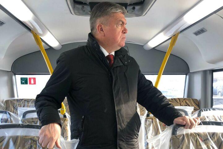 Первая партия больших автобусов появится в Челнах через полтора месяца