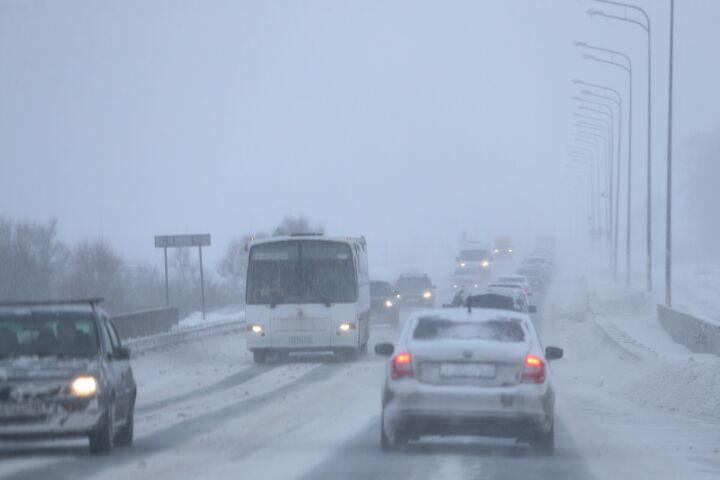 Возобновили движение автобусов по трассам в РТ, остановленное из-за метели