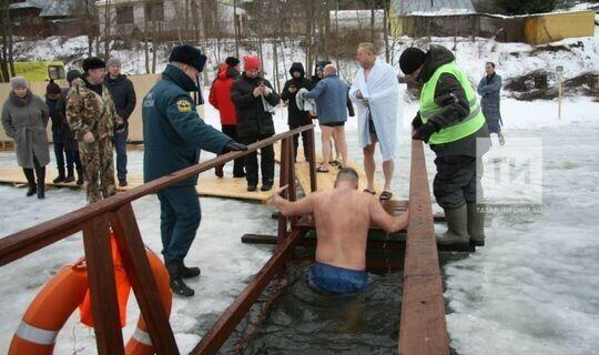 В Кукморском районе крещенские купания пройдут на трех площадках