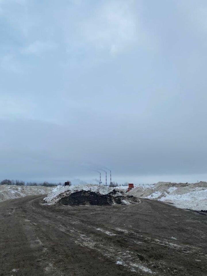 Автоград стал вторым в антирейтинге токсичных снежных свалок в Татарстане