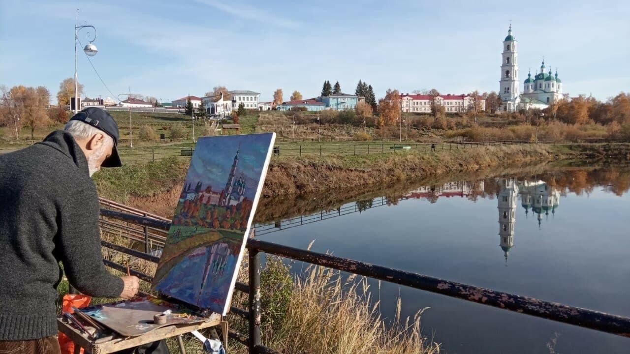 В Елабуге откроется выставка городских пейзажей Рашида Гилазова