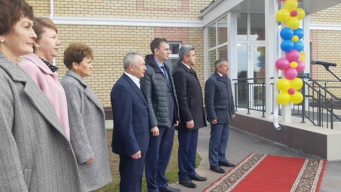В Лаишевском районе РТ по нацпроекту открылся новый билингвальный детский сад