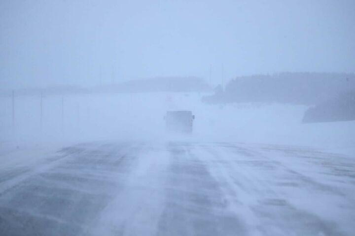 Из-за циклона в Татарстане ночью ожидаются сильный снег и метель