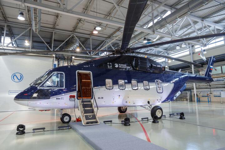 Минпромторг РФ потратит почти 1 млрд на модернизацию «Ми-38-2» производства КВЗ