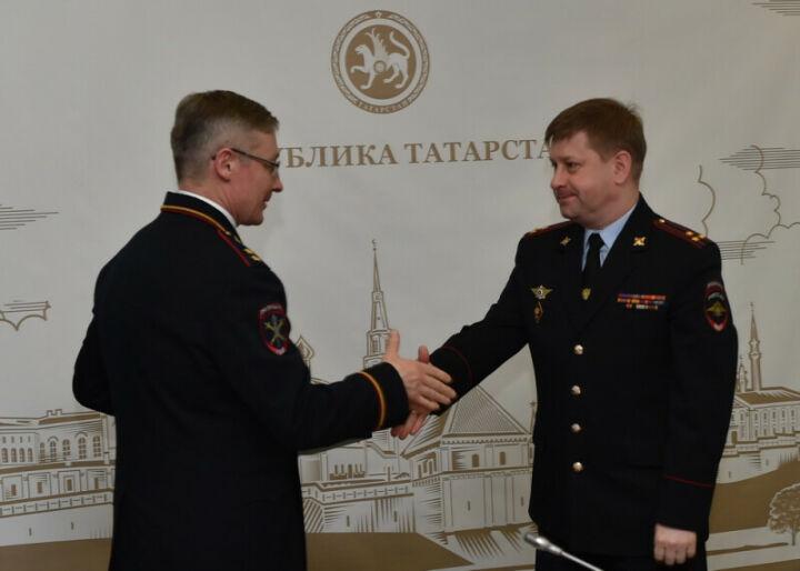 Начальнику полиции Татарстана Алексею Соколову присвоено звание генерал-майора