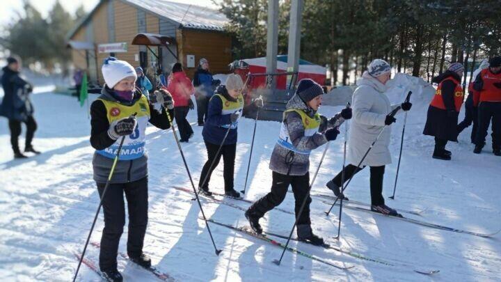 В Мамадыше провели чемпионат РТ по лыжным гонкам среди инвалидов