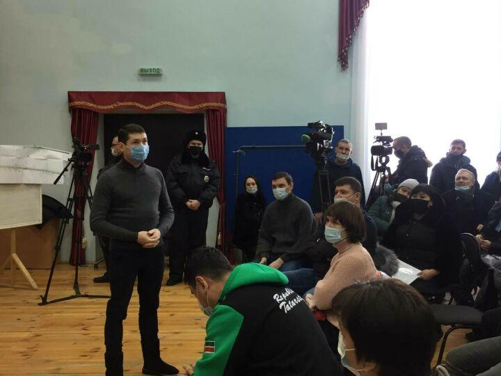 Жители Пестречинского района РТ обсудили строительство дороги
