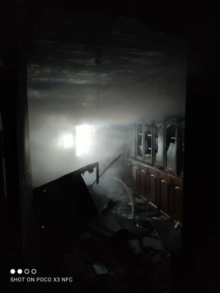 Мужчина погиб на пожаре в казанской высотке
