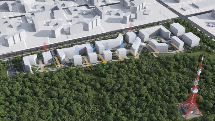 В Нижнекамске представили план проекта проспекта Шинников после застройки