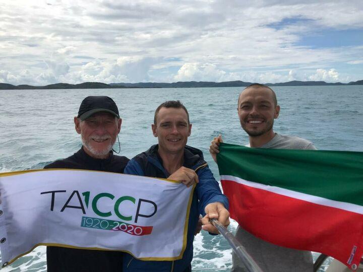 Татарстанские мореплаватели не попали в Австралию и взяли курс на Индонезию