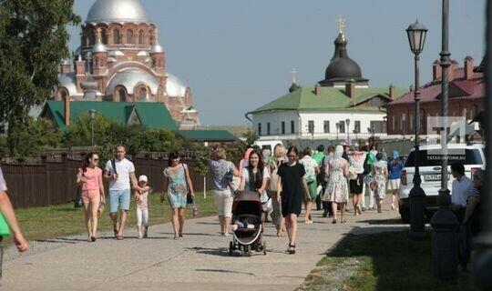 Свияжск занял второе место по Татарстану по популярности у туристов