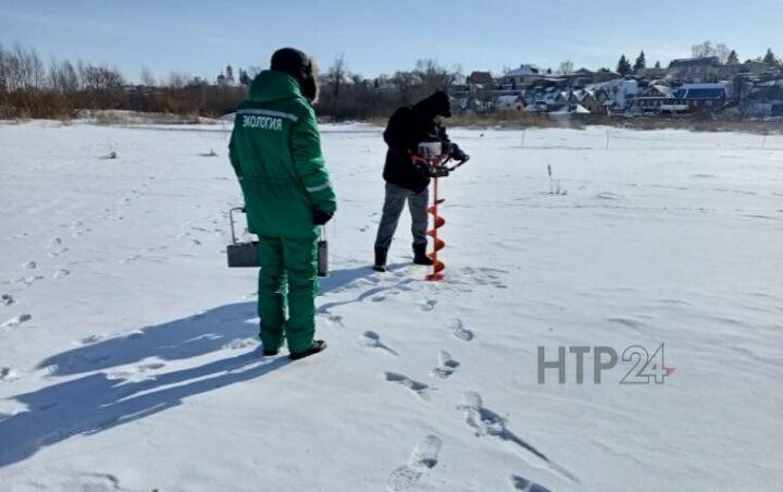 На озере Каракуль в Нижнекамске произвели аэрацию воды