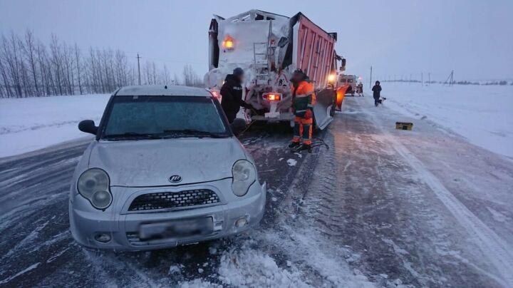 В Татарстане спасли двух женщин с собаками, которые замерзали в заглохшем авто
