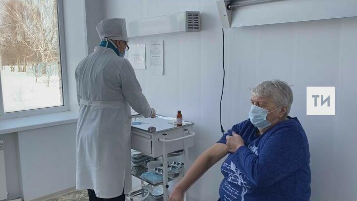 Жителей отдаленных сел Татарстана начали вакцинировать от Covid-19