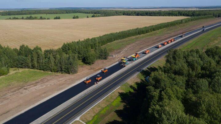 Дорожники защитят от износа около 30 км трассы М7 в трех районах Татарстана