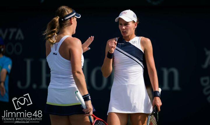 Кудерметова проиграла в полуфинале теннисного турнира в Дубае в парном разряде