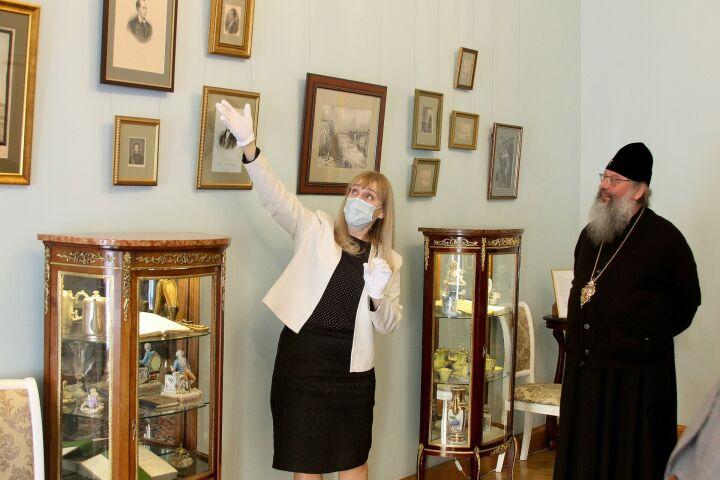 Митрополит Кирилл предложил поставить в Казани памятник внуку поэта Боратынского