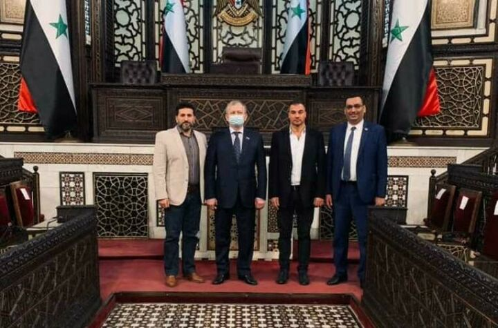 Бариев посетил мероприятие, посвященное 50-летию Олимпийского комитета Сирии