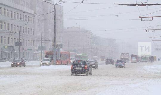 МЧС призывает татарстанцев отказаться от дальних поездок в среду из-за непогоды