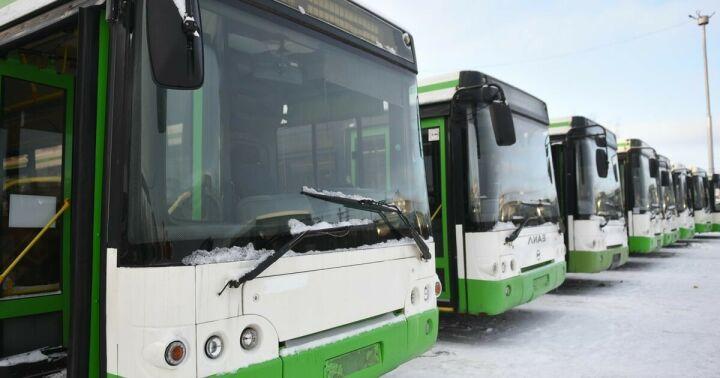В Набережных Челнах  московские «ЛИАЗы» вышли на обкатку маршрутов