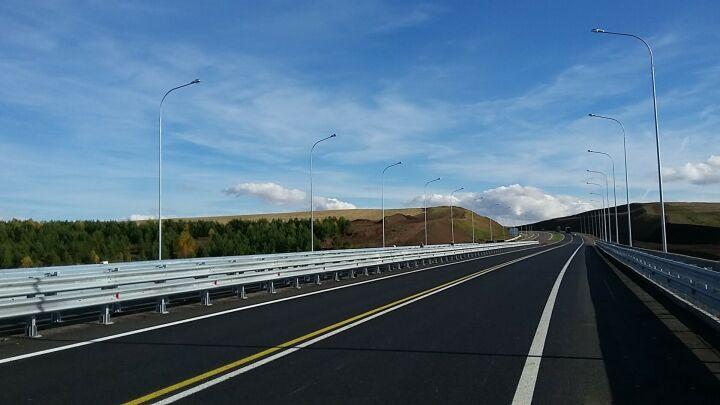 Протяженность освещенных участков трассы М7 в Татарстане увеличится на 30 км