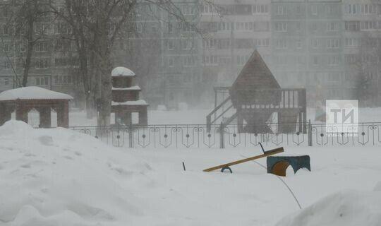 Синоптики Татарстана предупреждают о метелях, сильном ветре и гололедице