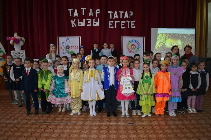 В Азнакаеве определились юные знатоки татарского языка и культуры