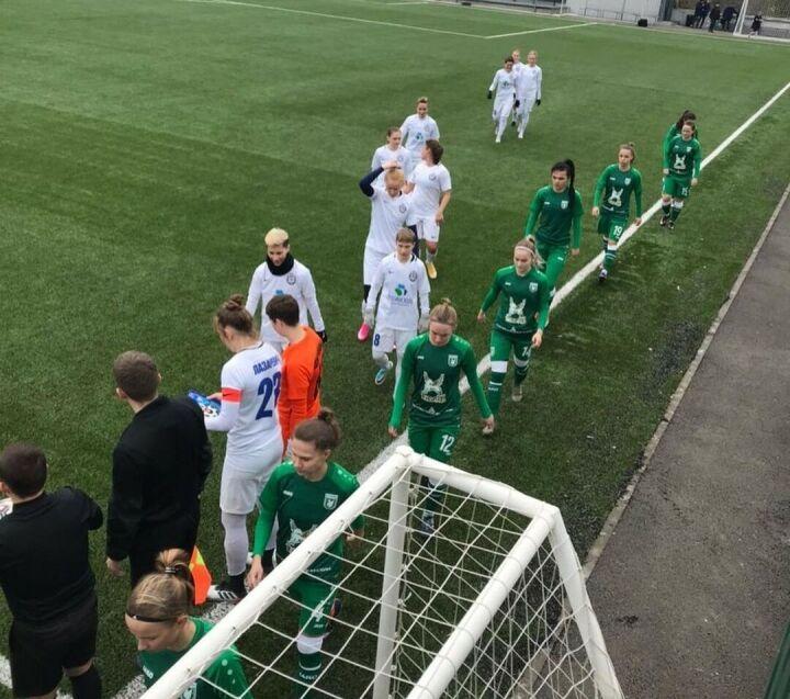 Женский «Рубин» проиграл второй матч на сборах и возвращается в Казань