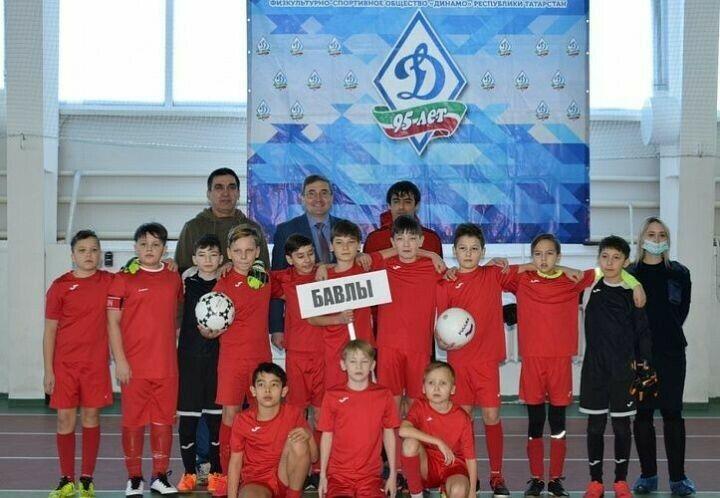 Бавлы победили в первенстве по мини-футболу в честь 95-летия Общества «Динамо» РТ