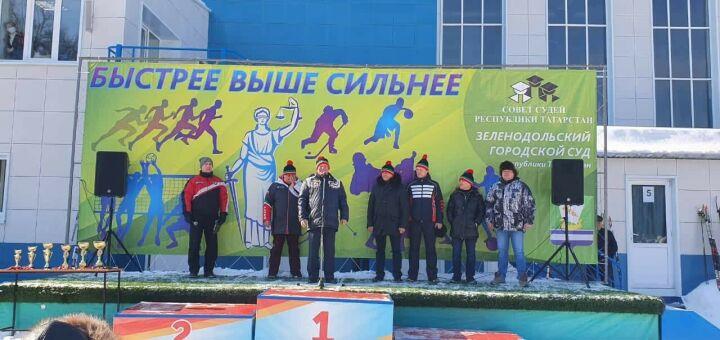 Судейское сообщество Татарстана собралось в Зеленодольске на лыжные гонки