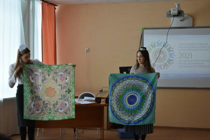 Юные азнакаевцы узнали о значении родного языка и поучаствовали в викторине