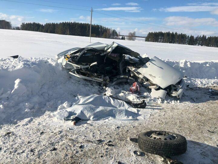 Женщина с сыном погибли в ДТП с грузовиком, второго мальчика доставили в больницу