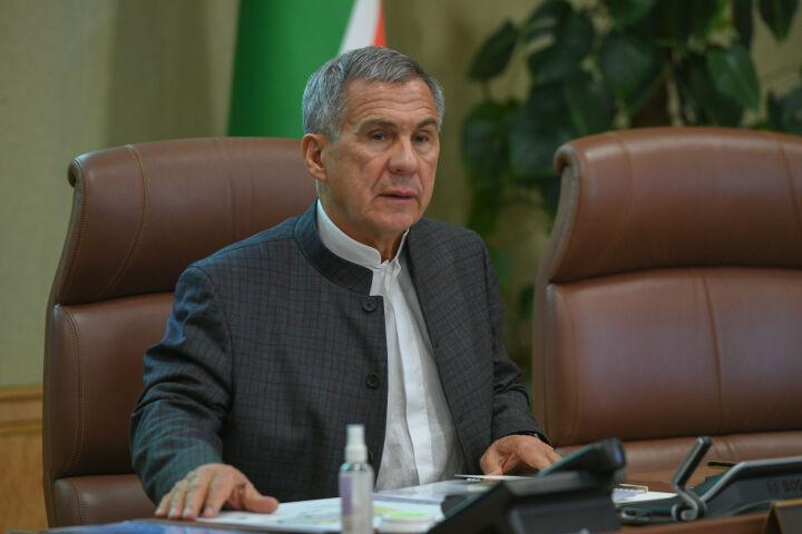 Минниханов призвал татарстанцев принять участие в «Эковесне-2021»