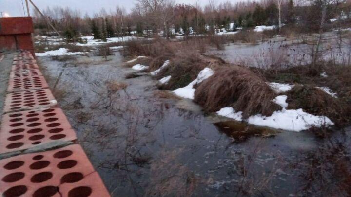 За сутки в Татарстане освободили от воды 79 придомовых участков