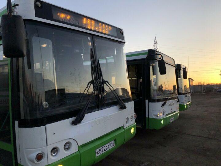 Транспортники Челнов не будут использовать «ЛИАЗы» для перевозки дачников