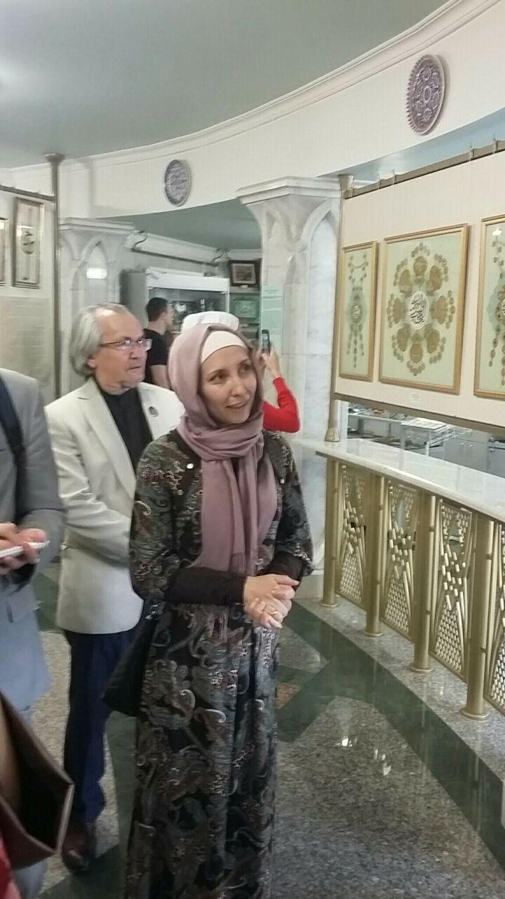 В Набережных Челнах открылась выставка шамаилей, посвященная месяцу Рамадан