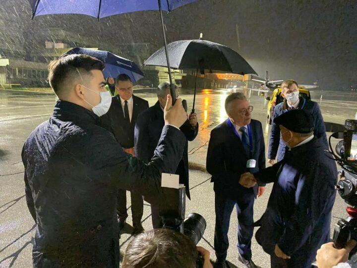 Рустам Минниханов прибыл с рабочим визитом в Боснию и Герцеговину