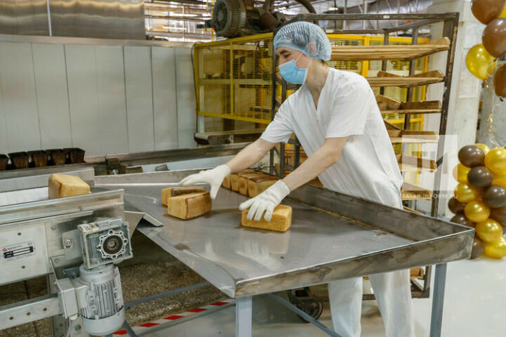 Булочно-кондитерский комбинат запустил новую линию по выпуску формовых хлебов