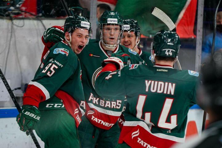 Хоккейный клуб «Ак Барс» делегировал в сборную России целую пятерку