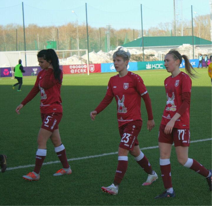 Женский клуб «Рубин» потерпел четвертое поражение подряд