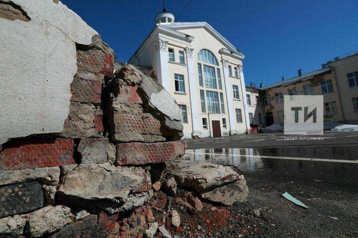 Бельведер с ротондой и бальный зал: Дворцу пионеров в центре Казани вернут прежний вид