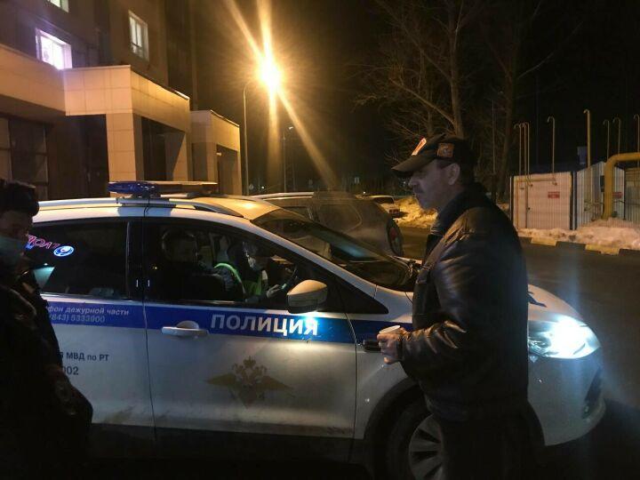 Во время рейда в Казани автоинспекторы поймали нетрезвого водителя