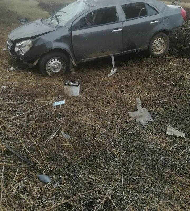 Мужчина разбил голову, вылетев на авто в кювет в Татарстане