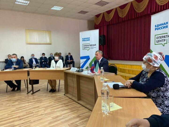Мамадышцы обсудили с главой района перспективы промплощадки «Вятка» и соципотечное жилье