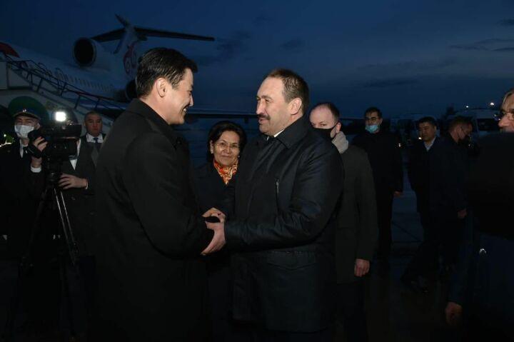 В Казань прибыл Премьер-министр Киргизии