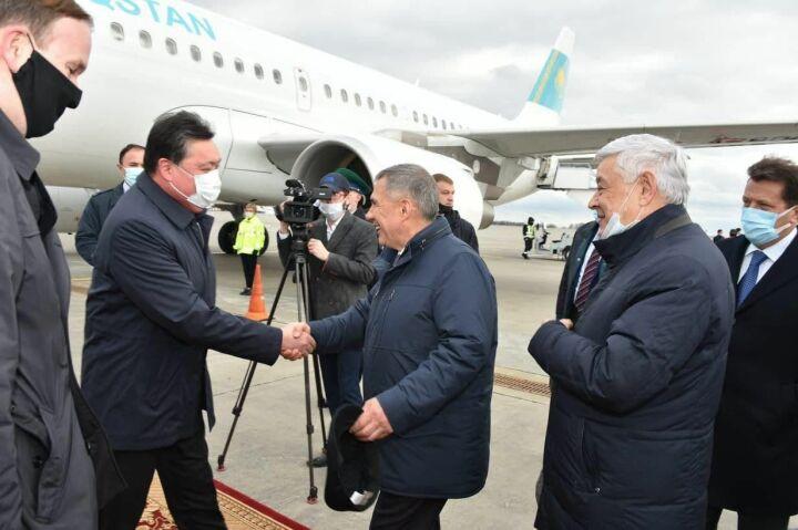 В Татарстан прибыл Премьер-министр Казахстана