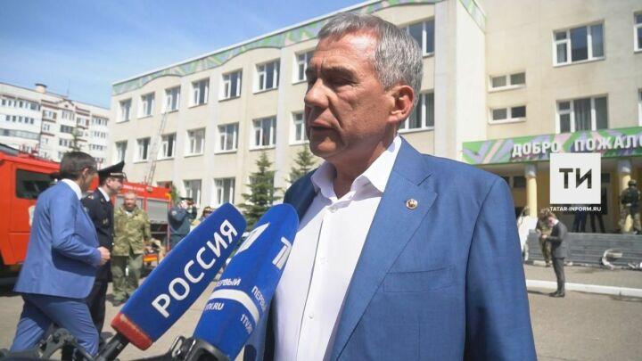Минниханов: «Большая трагедия для всей страны, мы потеряли семь детей»