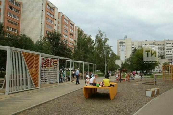 В Лаишевском районе Татарстана по проекту «Наш двор» благоустроят девять территорий