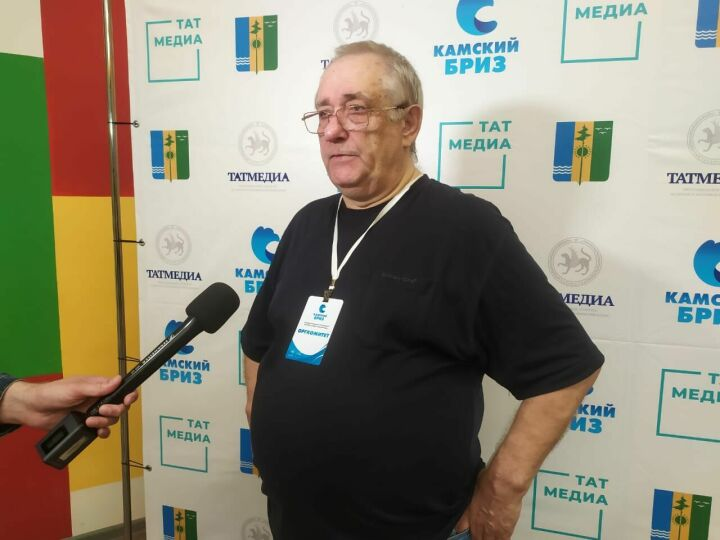 Медиатренер Сергей Бондарев провел первый урок на телефестивале «Камский бриз»